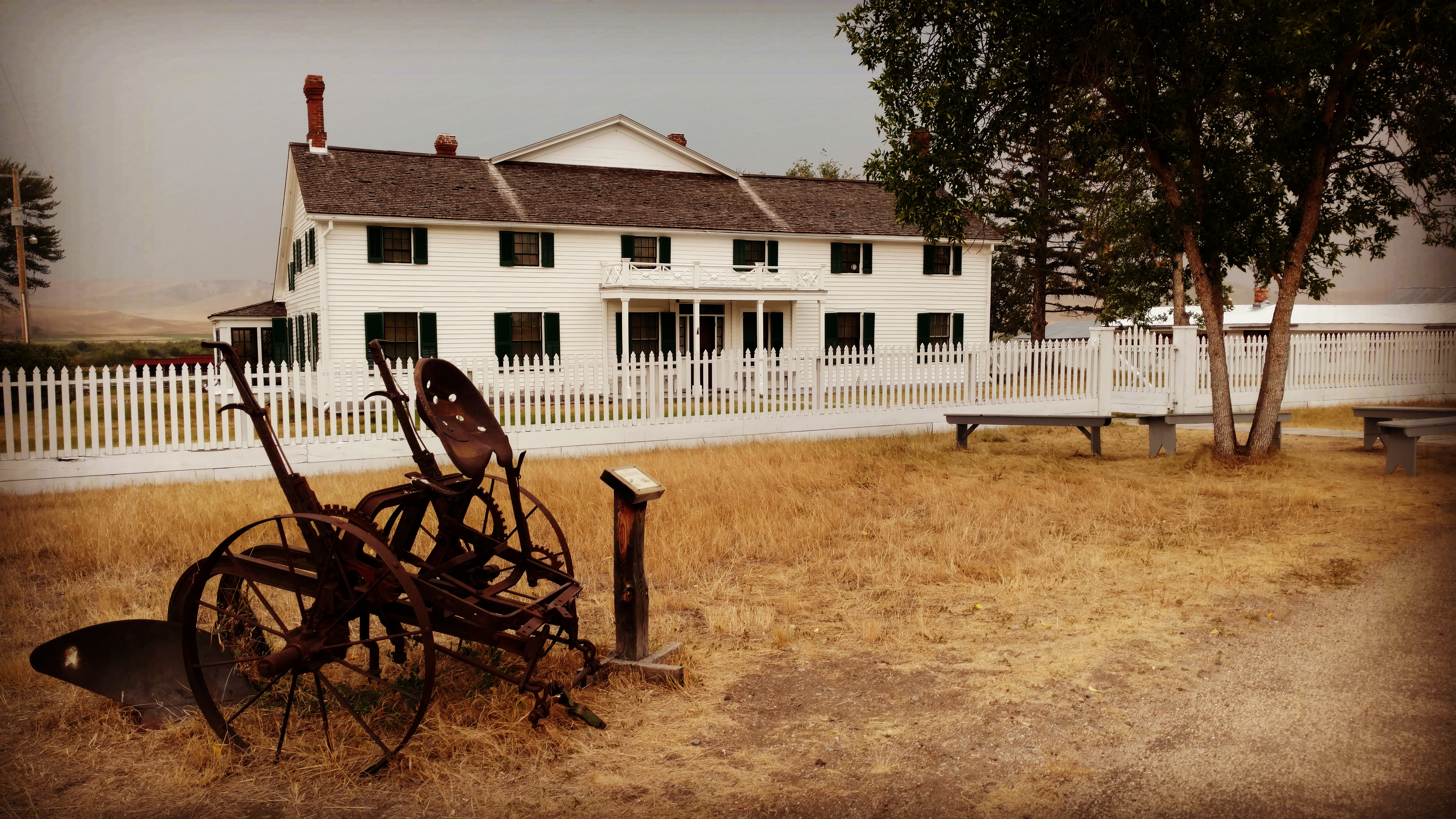 Grant-Kohrs Ranch National Historic Site Ranch House
